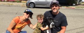 Blue (formerly Dryden) and his new family